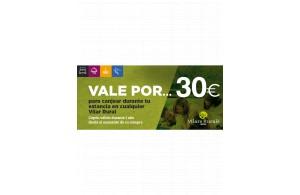 Vale de 30€ para tu estancia en el Vilar