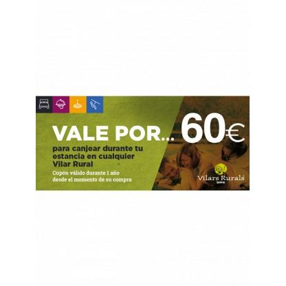 Vale de 60€ para tu estancia en el Vilar