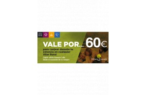 Val de 60€ per a la teva estada al Vilar