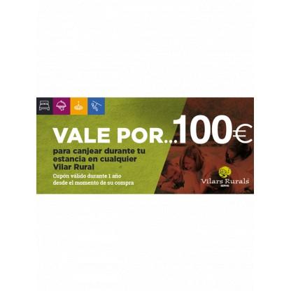 Val de 100€ per a la teva estada al Vilar